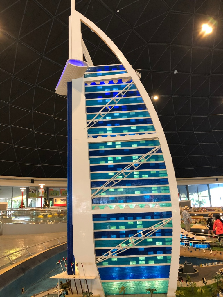 Lego Model of Burj Al Arab Image by 13weeksTravel